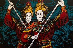Citadel Sword Dancers - Hue, Vietnam