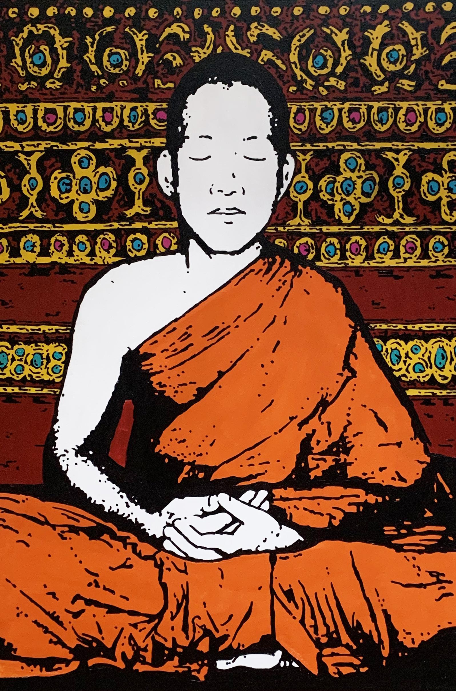 Prayer Monk