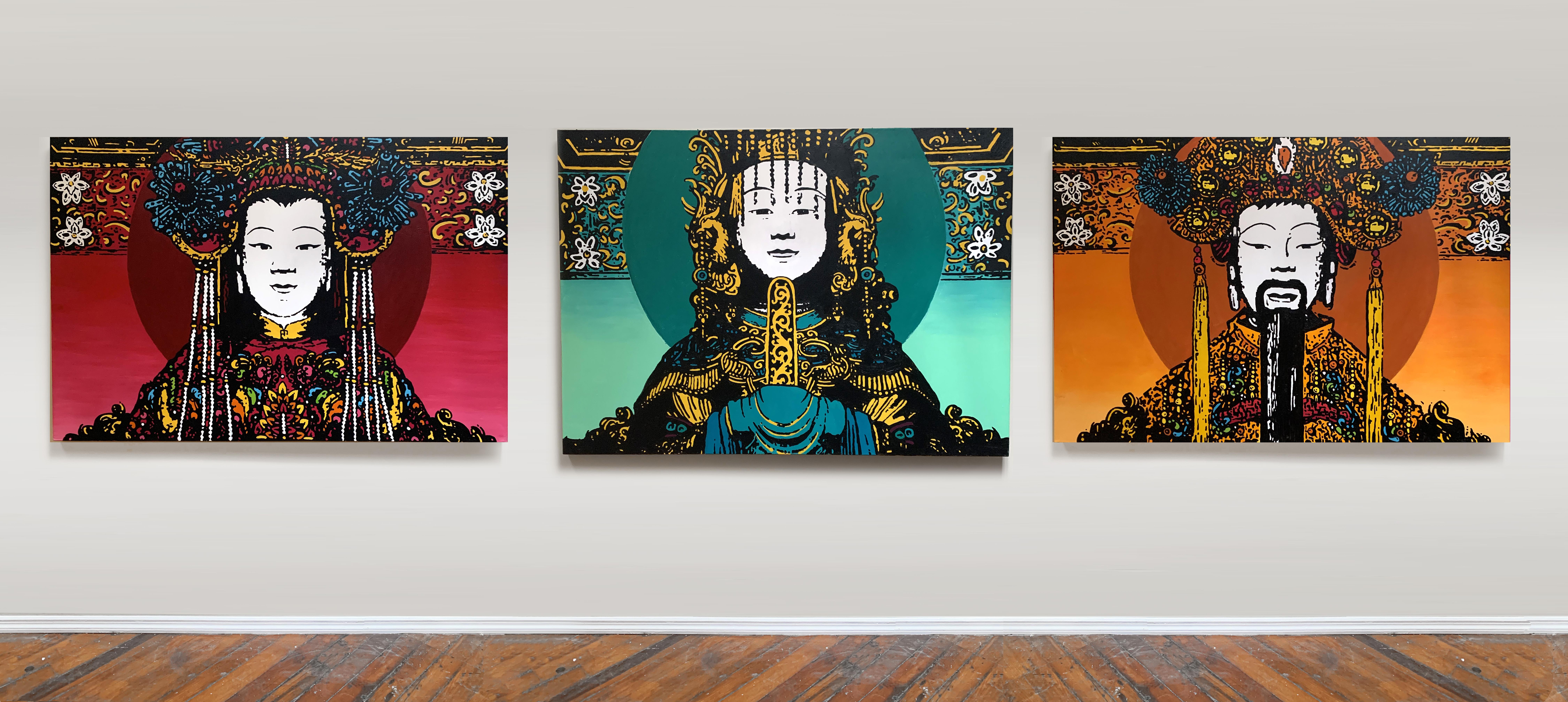 Vietnam Buddhas