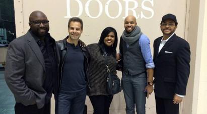 J.Michael O'Neal, Kamil Rustam, CeCe Winans, Donald Barrett, and Dwight Watkins on tour