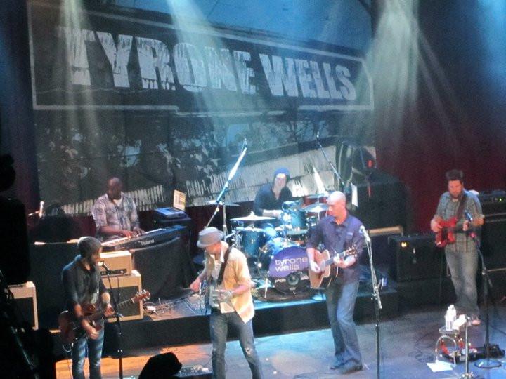 J.Michael O'Neal on tour wth Tyrone Wells