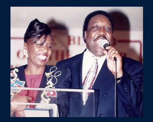 Saundra O'Neal (Mother) & the late Dr. James M. O'Neal (Father)