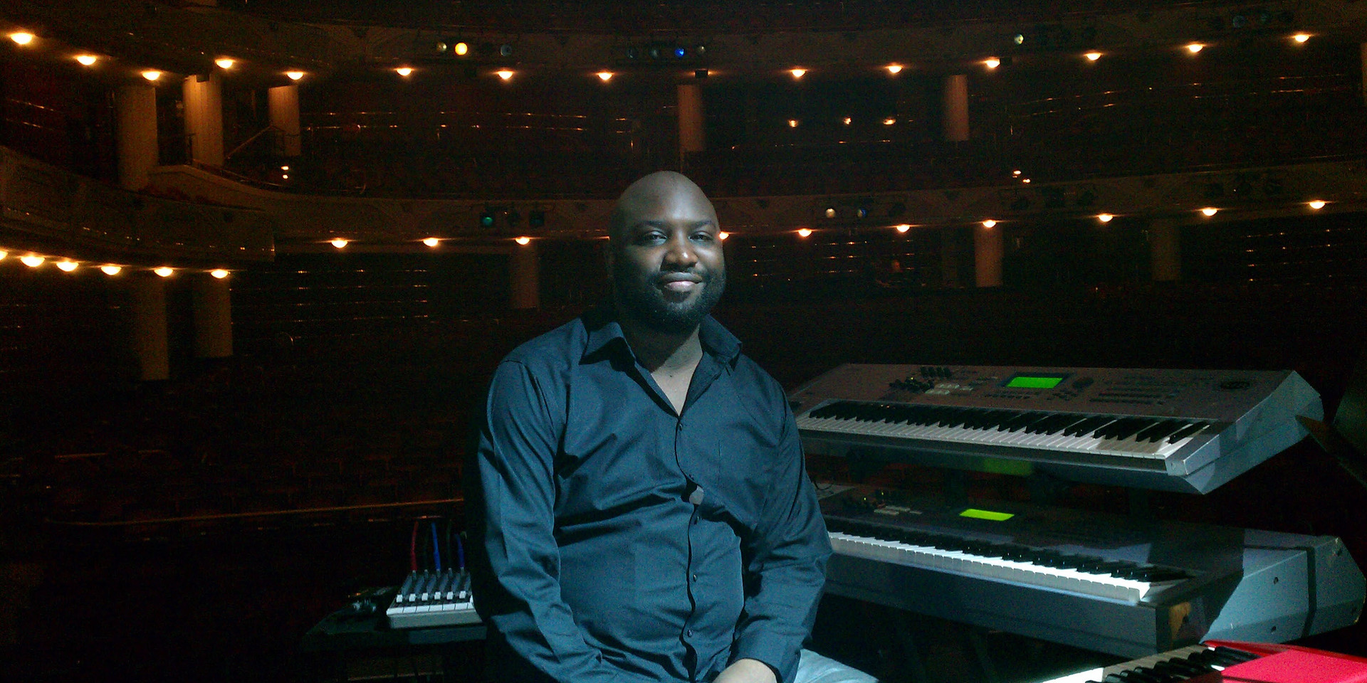 J.Michael O'Neal on tour with Peabo Bryson.