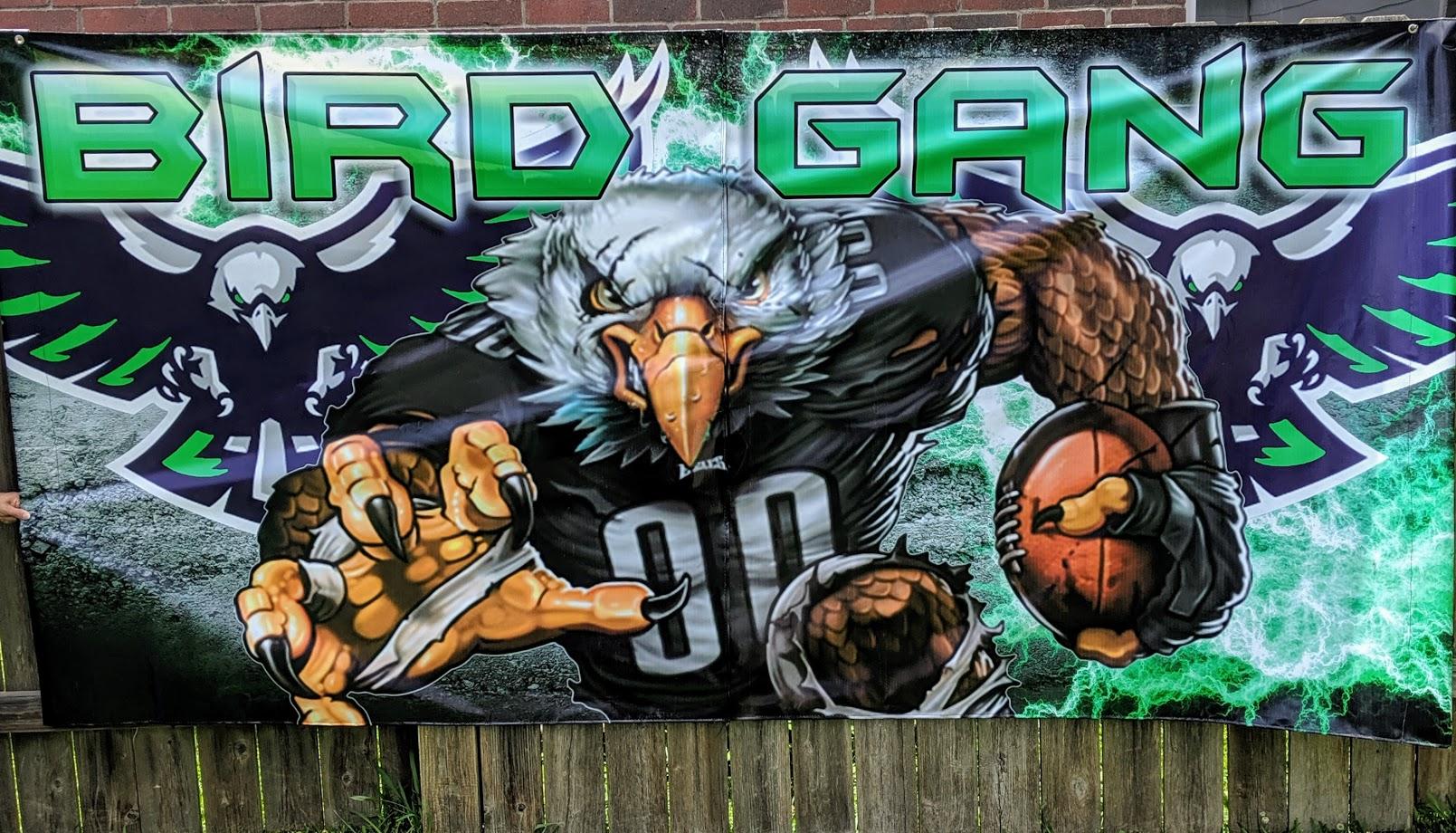 BIRD GANG GREEN