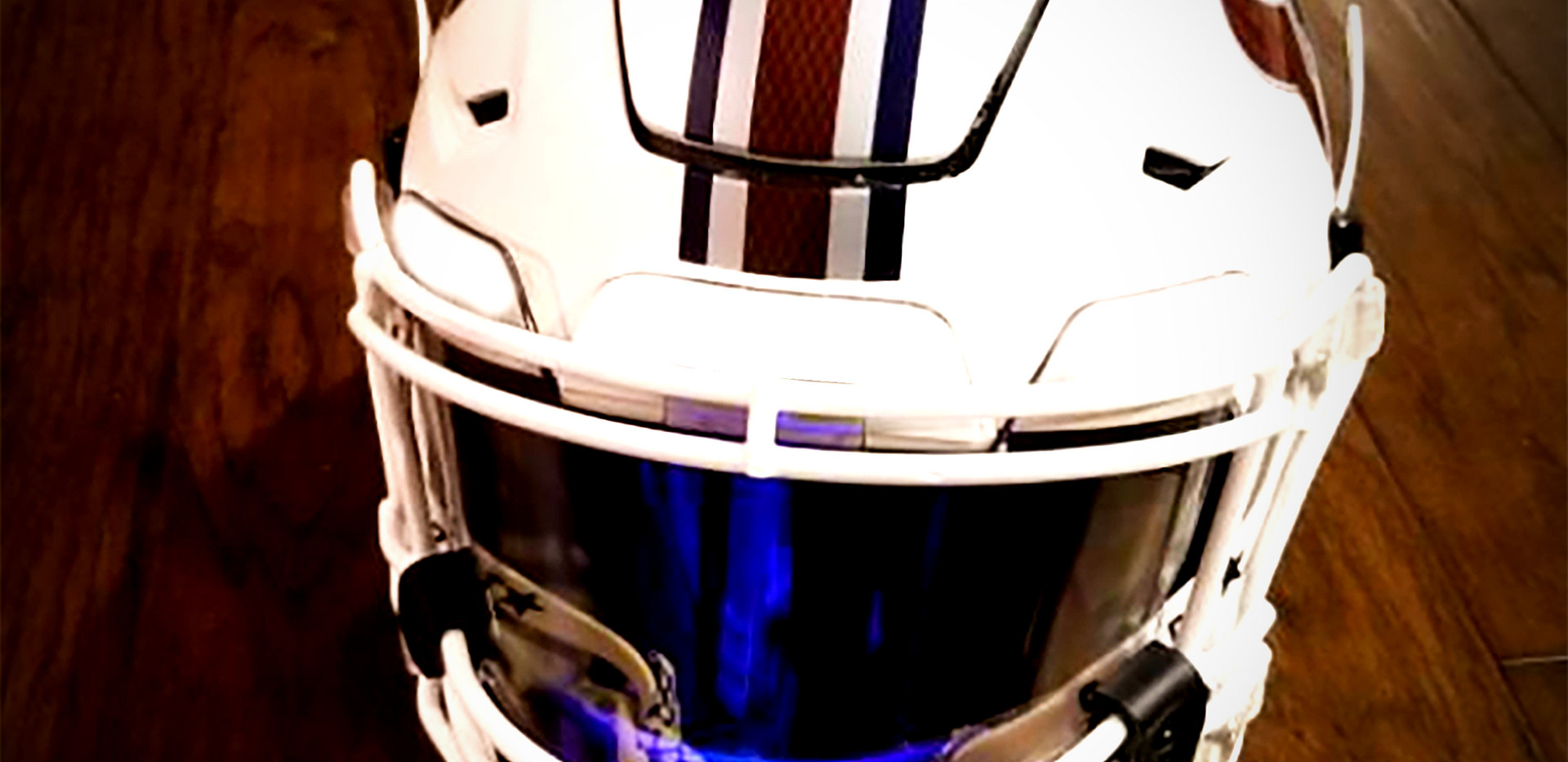 CHROME TEXANS STRIPES