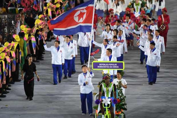 The North Korean Delegation in Rio 2016 Summer Olympics, www.scoopnest.com