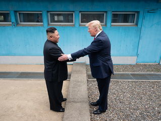 Trump and Kim Jong-un: Climbing the Diplomatic Ladder