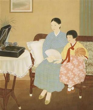 Kim Ki-Chang, Quiet Listening, 1934