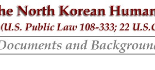 North Korean Human Rights Law – Past and Present
