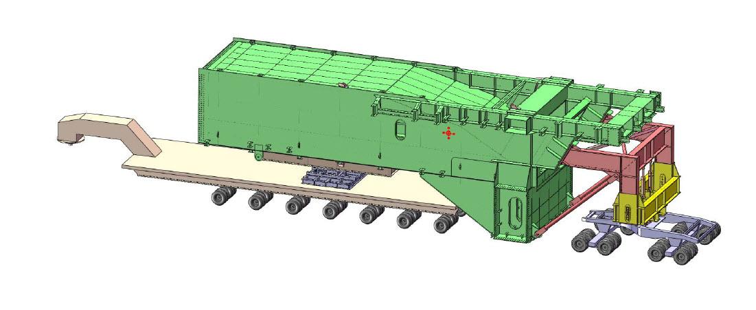Girder transport concept - Grosvenor