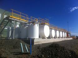 Blackwater Mine HVW Lube Facility - Tanks