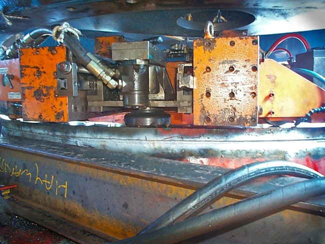 Temco Bell Bay - Slew bearing 2