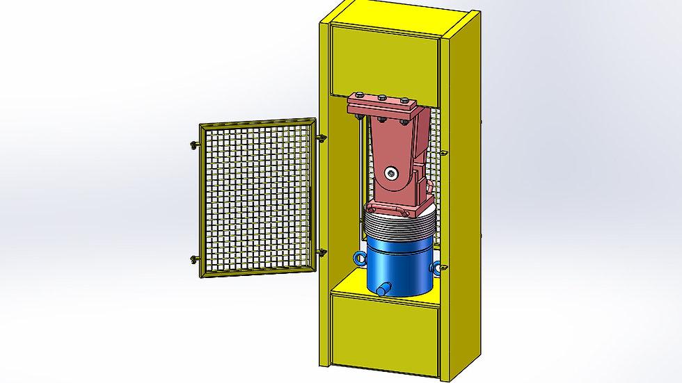 Hydraulic Cylinder Test Frame