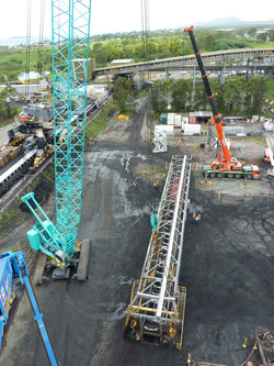 DBCT SR1 - Removal - Cranes