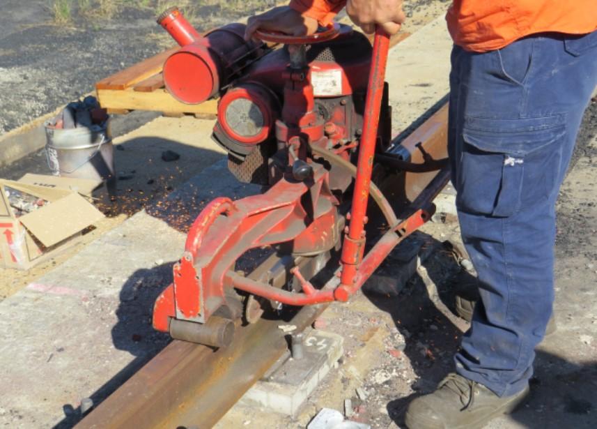 Abbot Point working on rail