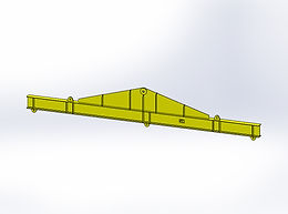 12T Lifting Beam - Length 7125mm - Daily Hire