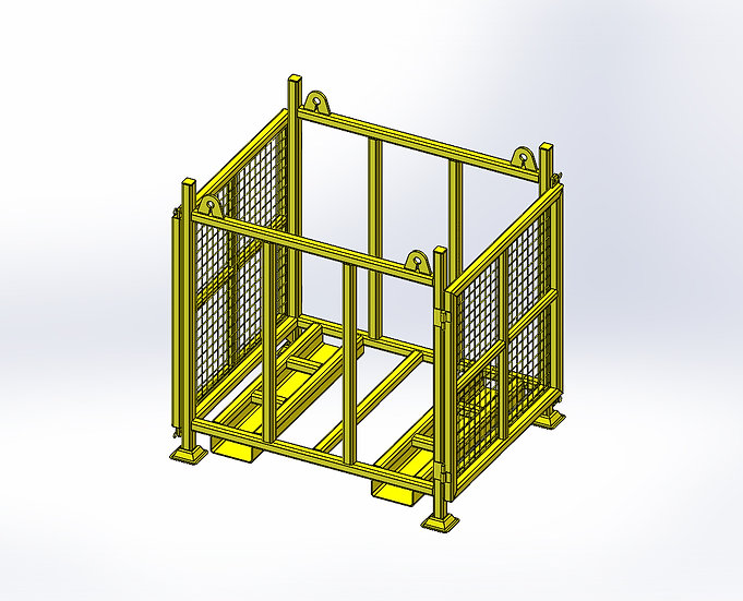 Stillage for Jacking Timber - Lifting Frame - 800mm x 900mm