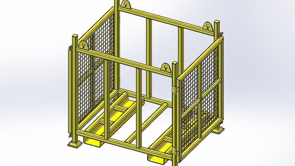 Timber Stillage Lifting Frame - 1700 x 930