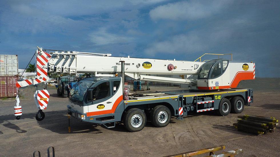 Hydraulic Truck Crane - 50T