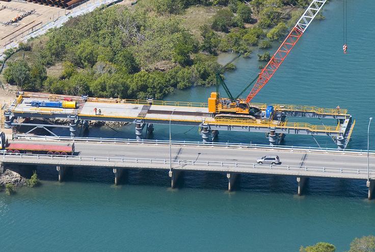Forgan Bridge - aerial 2