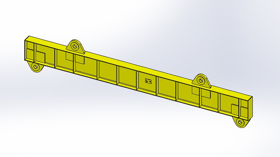 Lifting Beam - 40T - 5195mm
