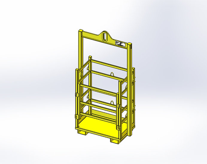 Gas Bottle Frame - Daily Hire
