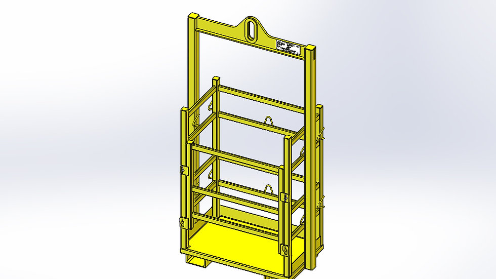 Gas Bottle Frame
