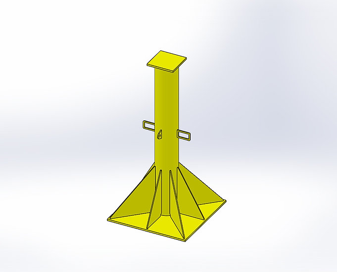 50T - Support Stand - 50T x 3.6 m - Daily Rate