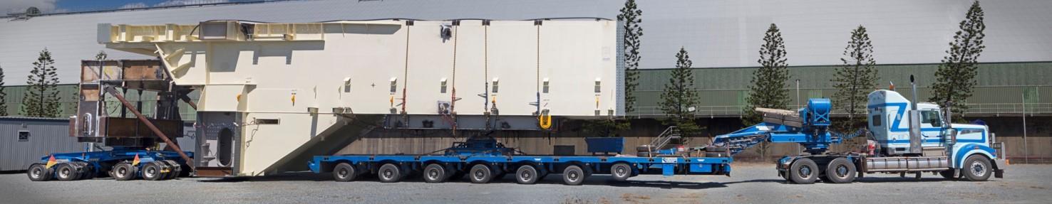 Panorama Truck Loaded for Grosvenor