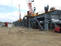 Forgan Bridge - steel work