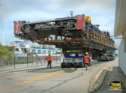 Size of truck for hay point shiploader boom