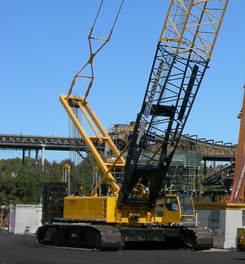 All Terrain Crawler Crane