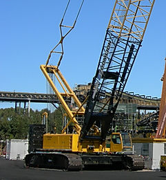 200T Crawler Crane Hire - Dry or Wet