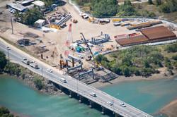 Forgan Bridge - aerial