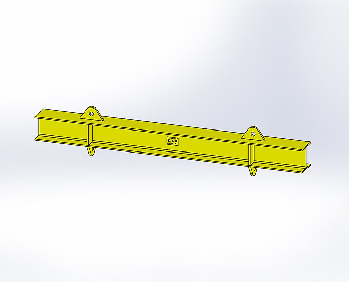 26T Spreader Beam - 2145mm Length- Daily Hire