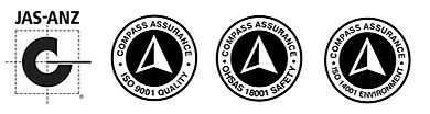 TEAM Qualifications and Certifications - ISO 9001, ISO 14001, JAS-ANZ