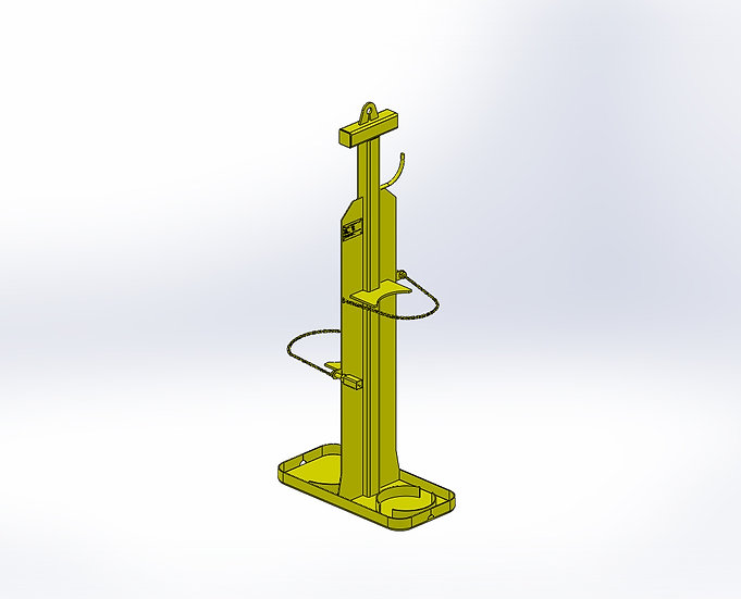 Oxy-Acetylene Lifting Stand