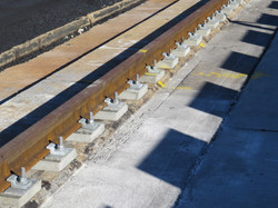 Abbot Point - Finished rail