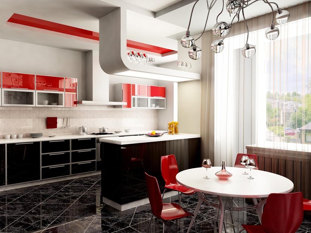 35 Ideias Incr Veis De Cozinha Americana E Cozinha Planejada  ~ Balcão De Cozinha Em Alvenaria
