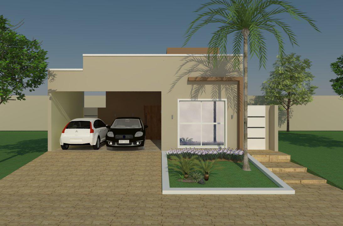 Ideia De Planta De Casa Com 3 Quartos Projetos E Plantas De Casas