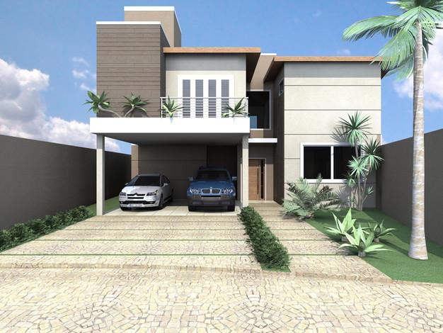 8 modelos de fachadas de casas projetos e plantas de