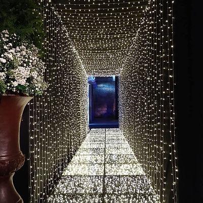 Tunel de LED montados com a Cortina de LED
