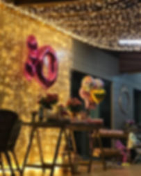 Cortina de LED para decoração de casamentos e festas.