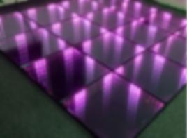 Piso de LED Infinity para festas e eventos.