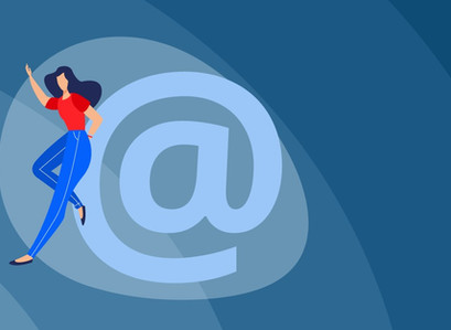 Build customer trust by using a professional, business email address