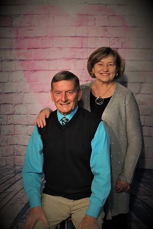 Pastor and Mrs Sutherland