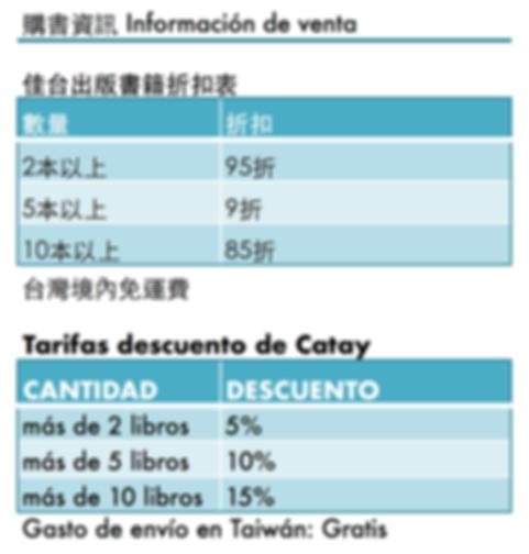 Catay, descuento