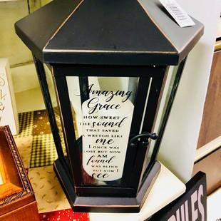 Black Amazing Grace Lantern