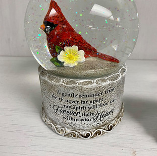 Cardinal Globe