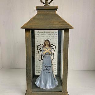 Amazing Grace Angel Lantern